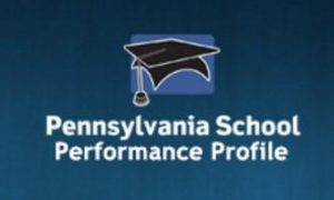 Logo and link to the PA Distance Pennsylvania School Performance Page