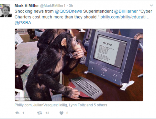 PA School Board Assoc. President Compares Our Students and Staff to Monkeys!